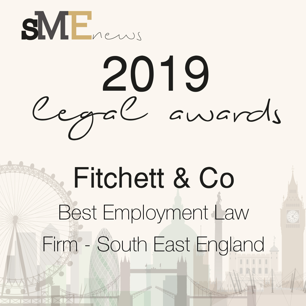 Awards - Best Employment Solicitors Firm